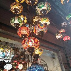 Turkish Mosaic Chandelier 11 Lamps