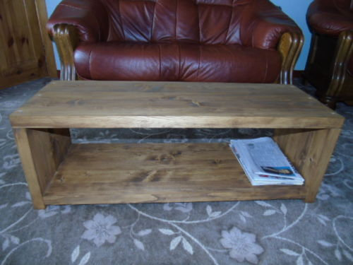 rustic handmade tv stand coffee table many sizes rgwoodwork