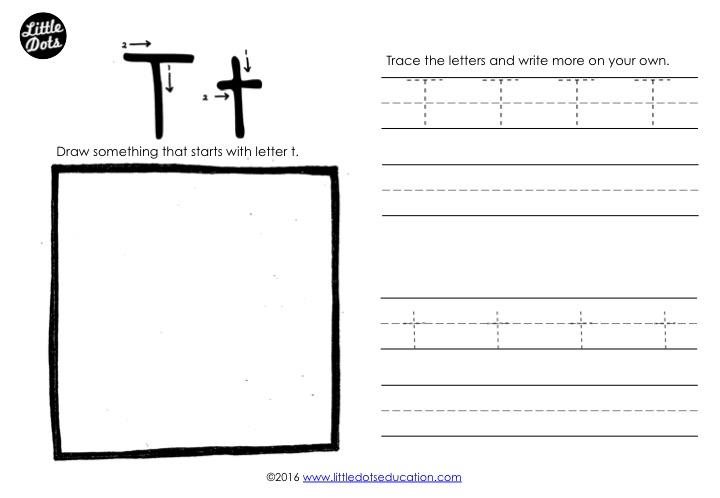 Preschool Letter T Activities And Worksheets