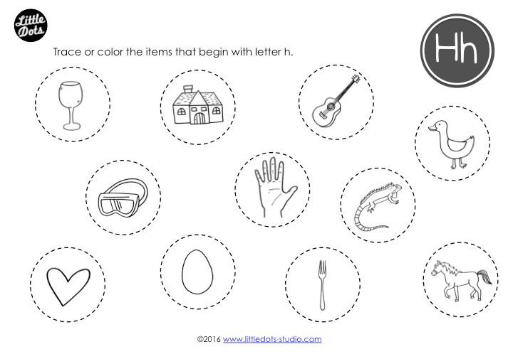 Preschool Letter H Activities And Worksheets