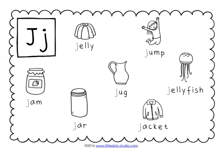 Preschool Letter J Activities And Worksheets