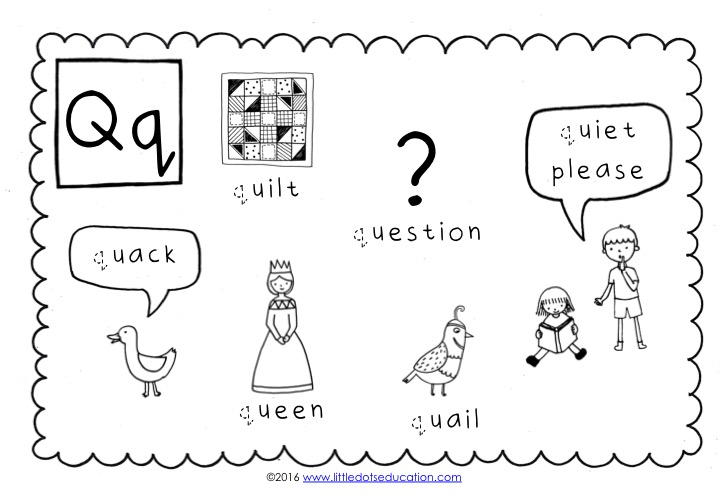 Preschool Letter Q Activities And Worksheets