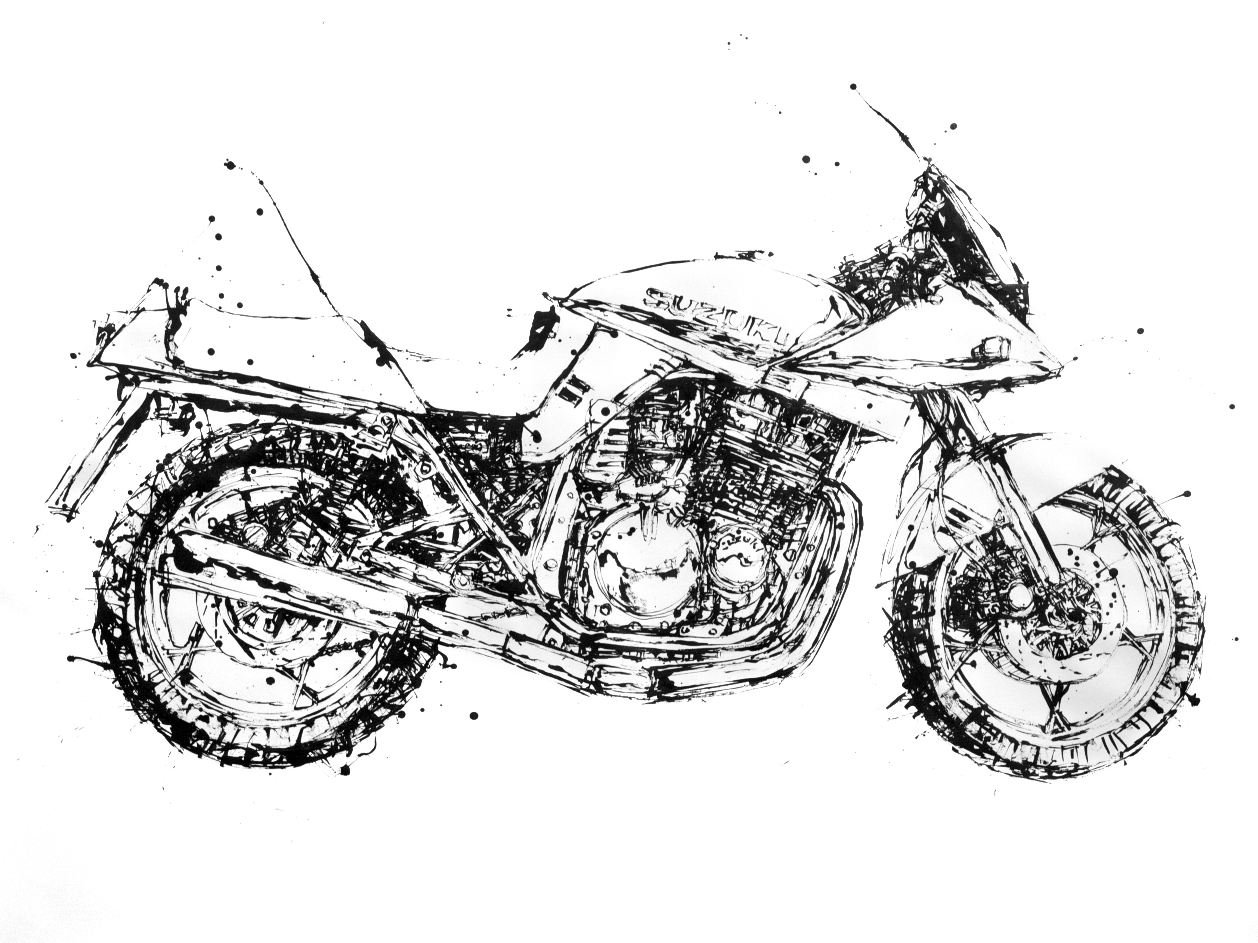 Motorcycle Painting
