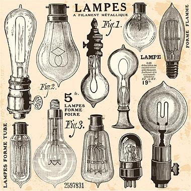 ampoule vintage filament carbone