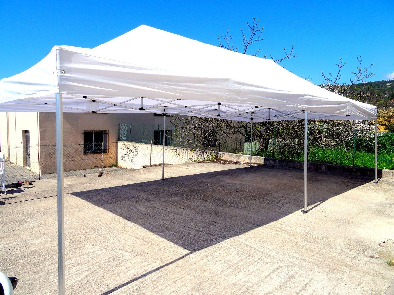 Location Tente 4x8m Pro Depliable
