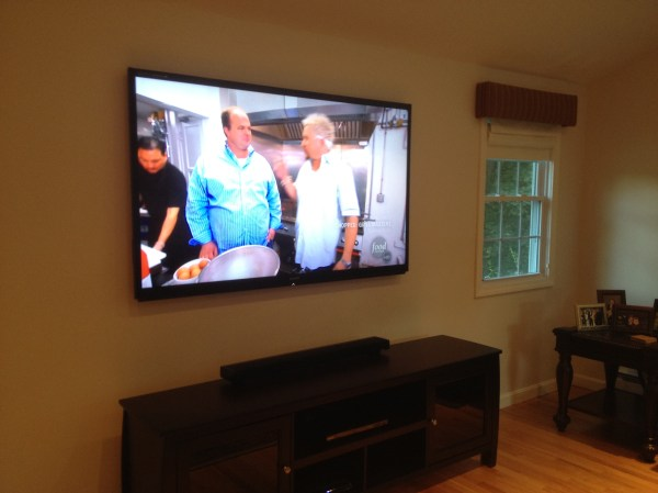 Concepts Audio and Video Design | Plasma TV On Wall