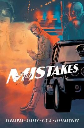 Mistakes, one-shot, cover, self-published, Harshman/Utrera
