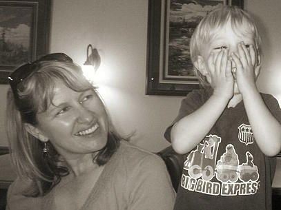 Pannell Bytes Mom and the laughing boy