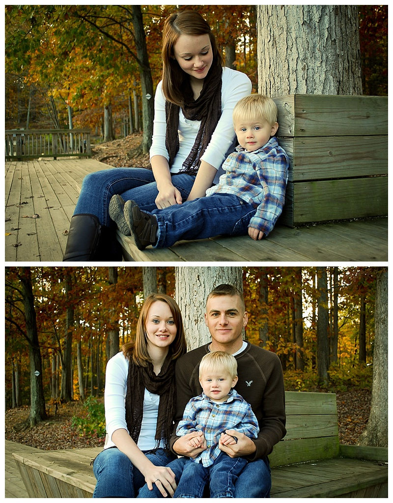 Autumn Fall Family Photos in Hampton Roads Virginia Beach Photographer