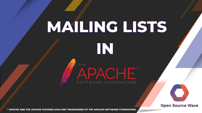 Mailing List In Apache Software Foundation