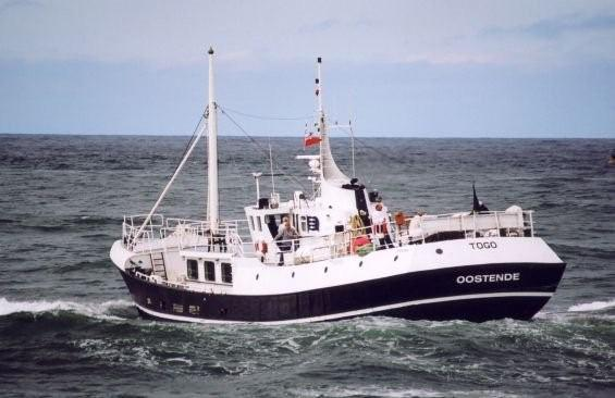 Converted North Sea Trawler Offered For Sale Offshore