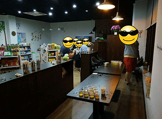 , Beer Pong in a Grocery Store, The Travel Bug Bite
