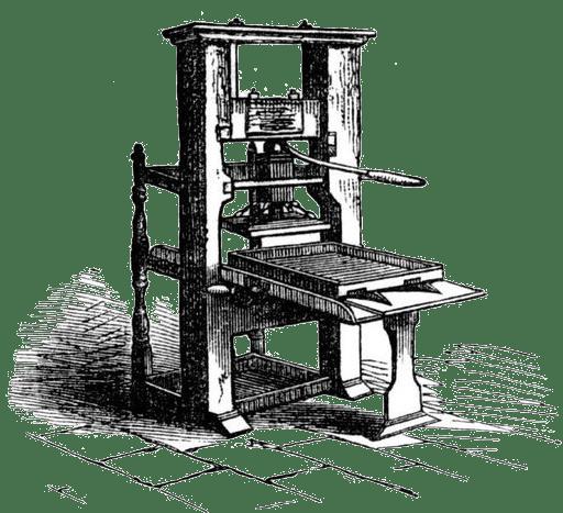 The revenge of Johannes Gutenberg
