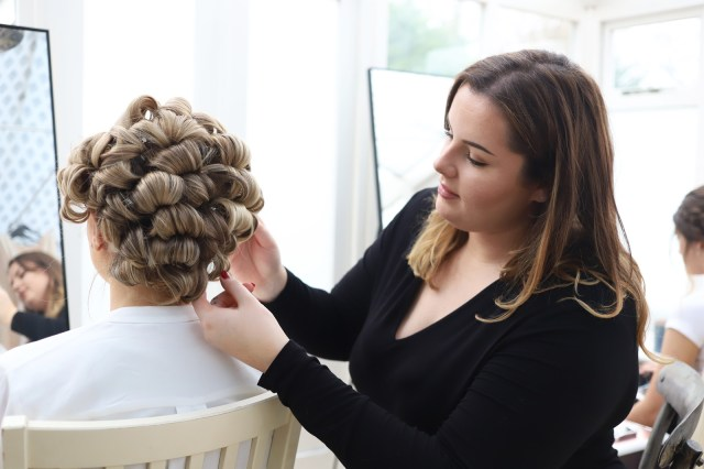 the bridal stylists | 3 day introduction to wedding hair course