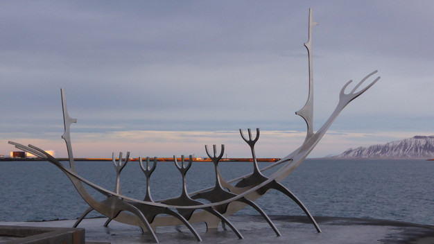 Reykjavik's Sun Voyager sculpture