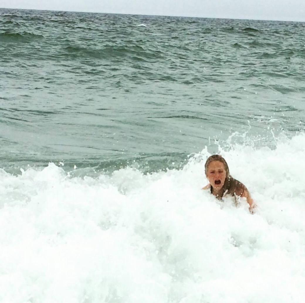 Med på bølgen