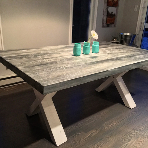 fabulous table de cuisine cape cod en bois massif with table de cuisine en bois