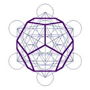 metatron cube dodecaedre