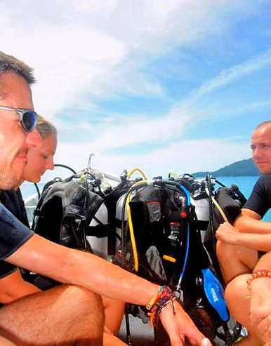 Getting Scuba Certified in Thailand