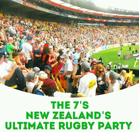 The 7's in New Zealand- The Ultimate Rugby Party