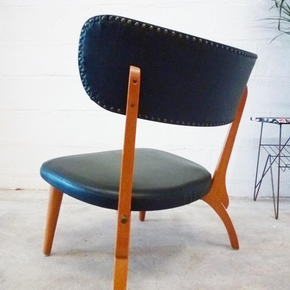 chaise basse de salon nordik dna 2 0