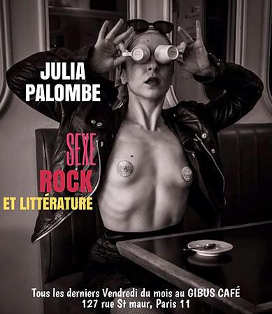 Julia Palombe au Gibus Café