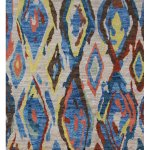 Hand Knotted Modern Moroccan Rug 4 10 X 6 9 Aararugs
