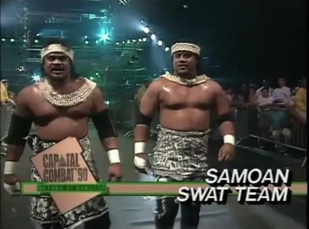 Tag Team Spotlight: The Samoan Swat Team