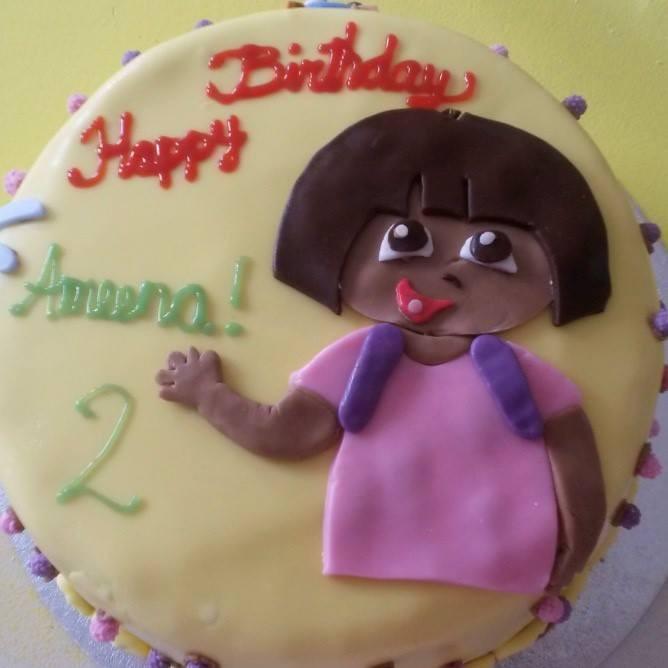 Swell Girly 2 Year Old Birthday Cake The Cake Boutique Personalised Birthday Cards Xaembasilily Jamesorg