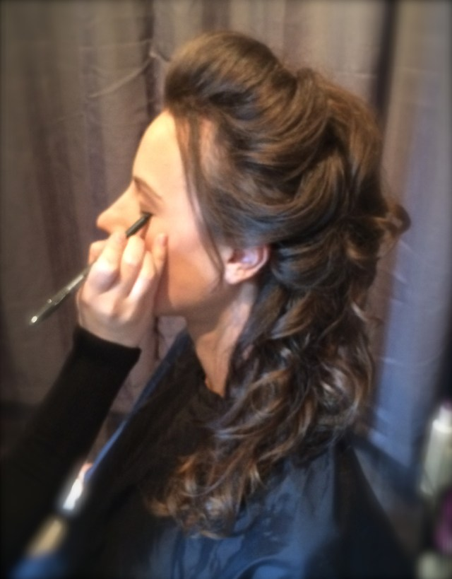 majestic mountain beauty - wedding hair and makeup beauty