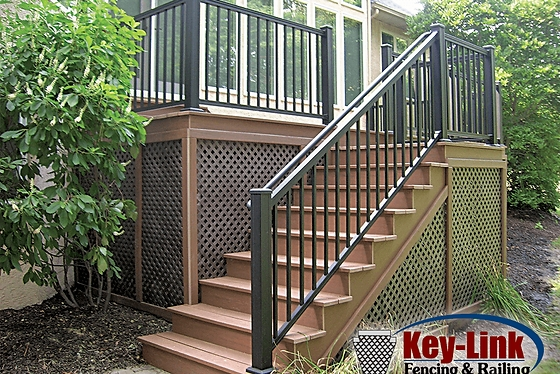 Michiana Deck Builders Trex Composite Decking | Graspable Handrail For Deck Stairs | Simple | Made 2X4 | 2 Foot | Code Compliant | Tall
