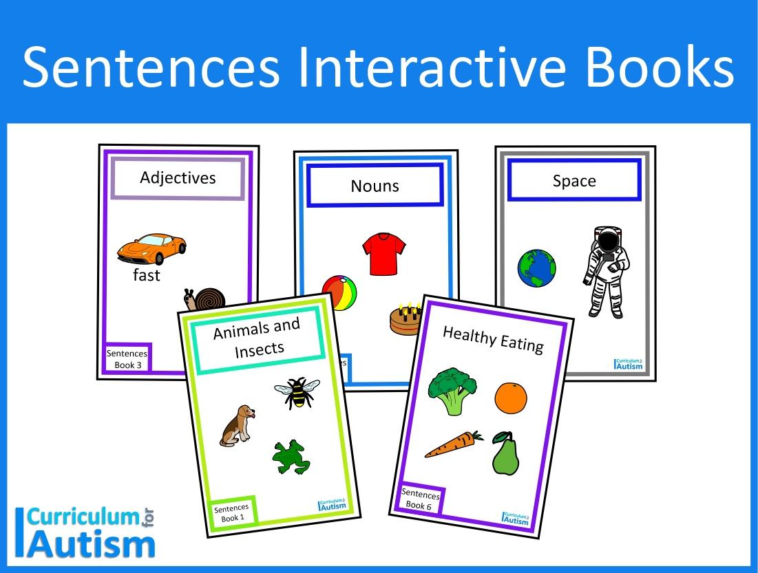 Finish The Sentences Interactive Books Bundle