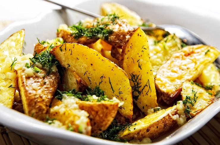 Herb Roasted Chateau Potatoes