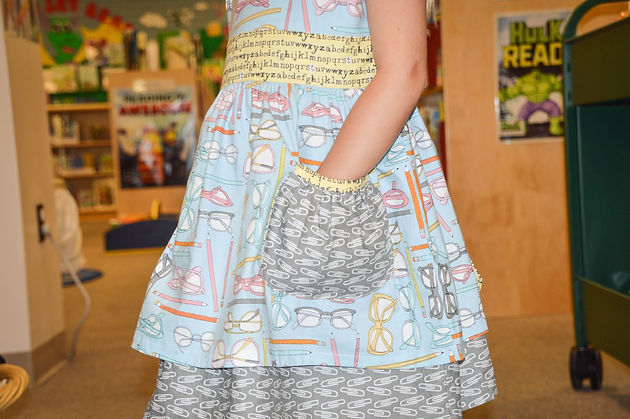 Sunflower Seams | Sisboom Sally, Back to School, Blog Tour, Pocket Tutorial, Free Pattern, Spring, Summer, Fall, Winter, Girls, PDF Sewing Pattern, Freebie, Free, Pattern, How to, Sewing