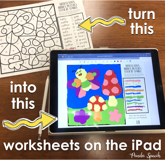 How To Use Any Worksheet On An Ipad