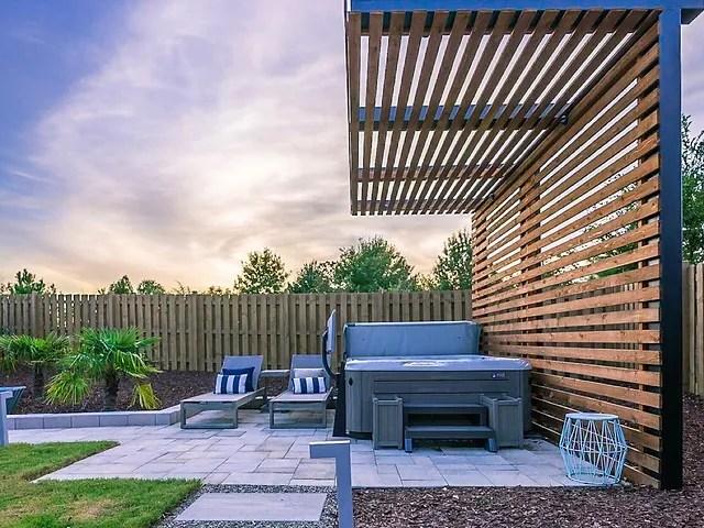 patios pergolas constructive design