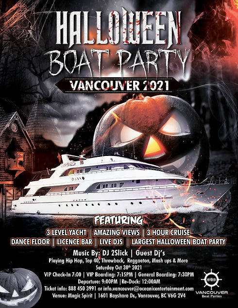 Schedules are subject to change.this is the case any year, but especially. Halloween Boat Party Vancouver 2021 | Vancouver Boat Parties