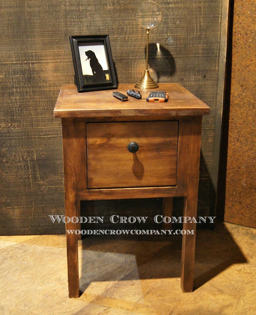 nightstand side table with hidden gun storage main