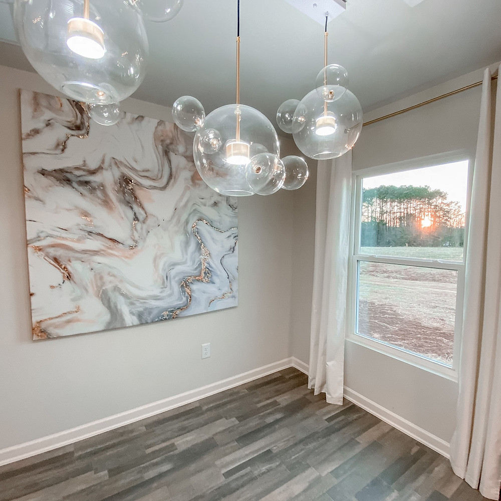 diy shower curtain wall art