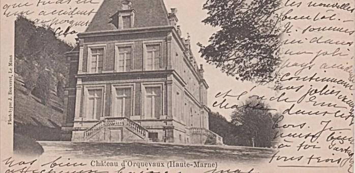 Château Orquevaux France