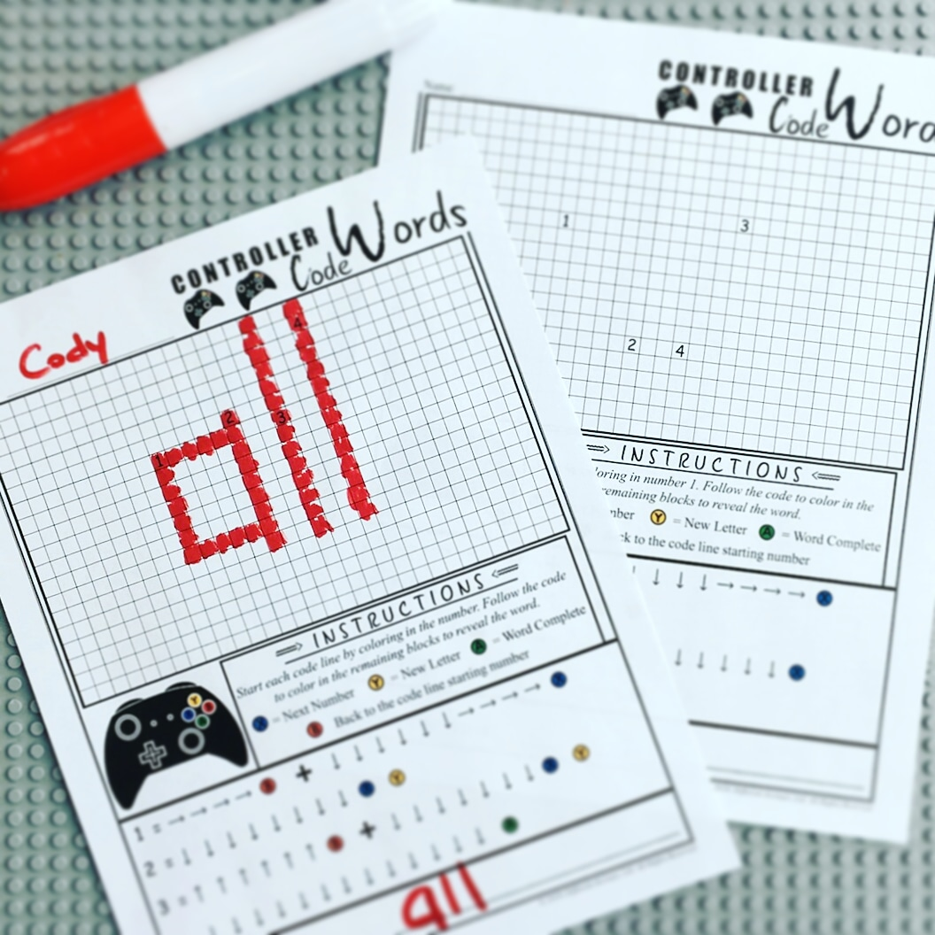 Sight Word Blended Learning Stem Based Word Work And