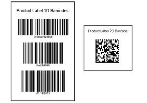 1D v 2D Barcodes