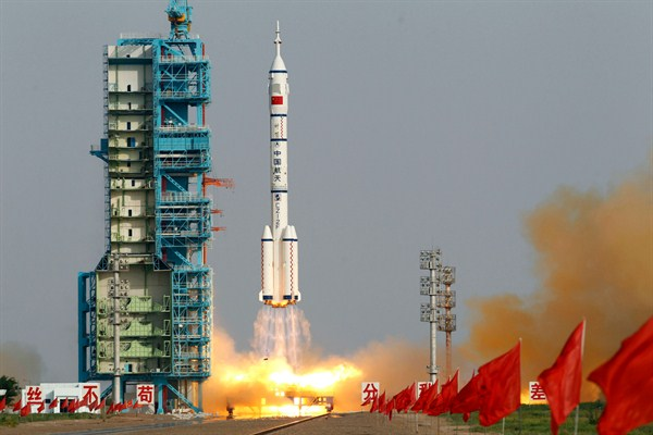 Chinas Aggressive Space Program Is Forced to Go it Alone