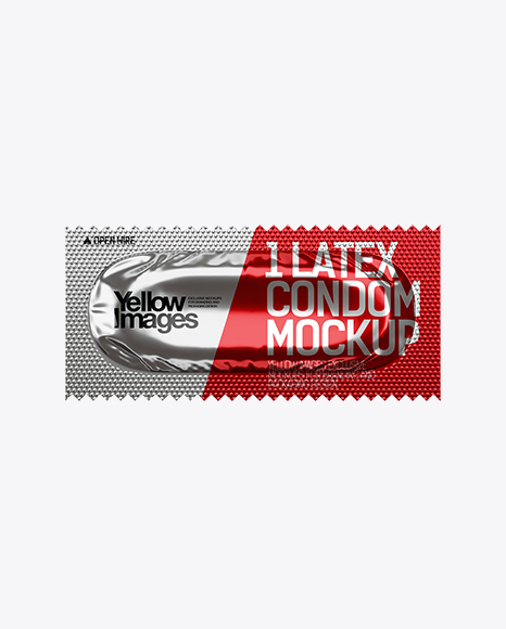 Download Free Condom Packaging Mockup PSD Graphic Files- PSDbro com