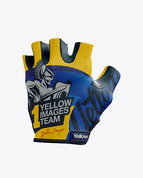 -preview-02-575039dd92625 Cycling Glove Mockup - Halfside View templates
