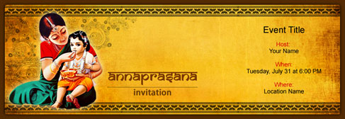 Free Annaprasana Invitation With India