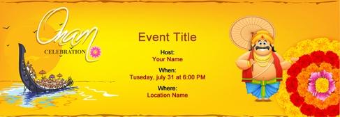 Find Por Onam Invitation Templates