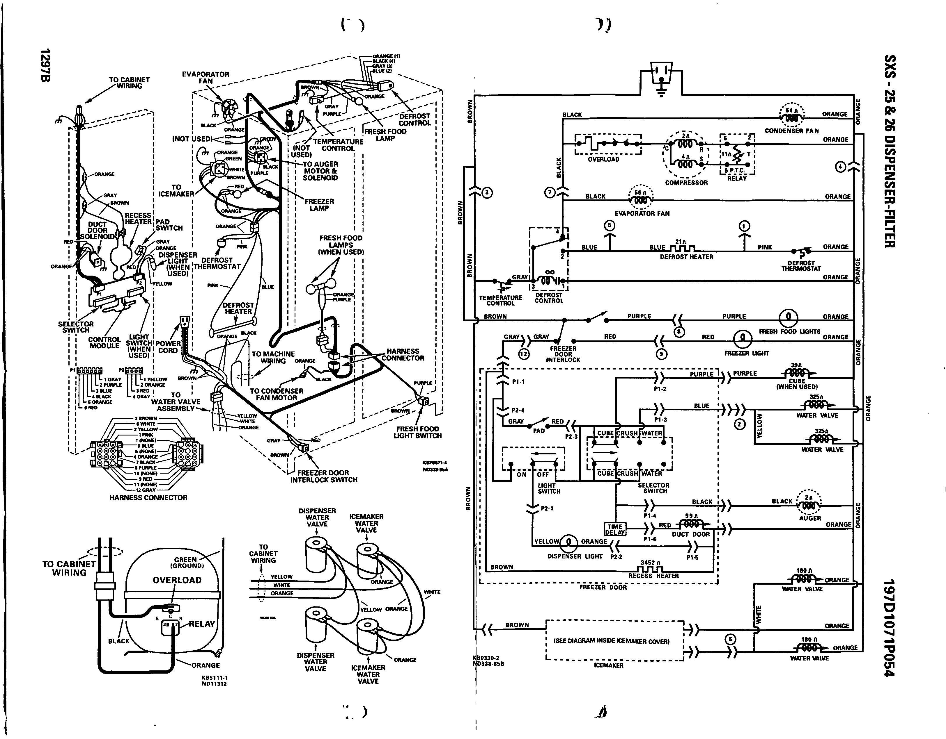 Wiring Diagram For Frigidaire Upright Freezer Wiring
