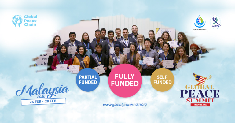 Image result for Fully Funded Global Peace Summit 2020 in Malaysia.