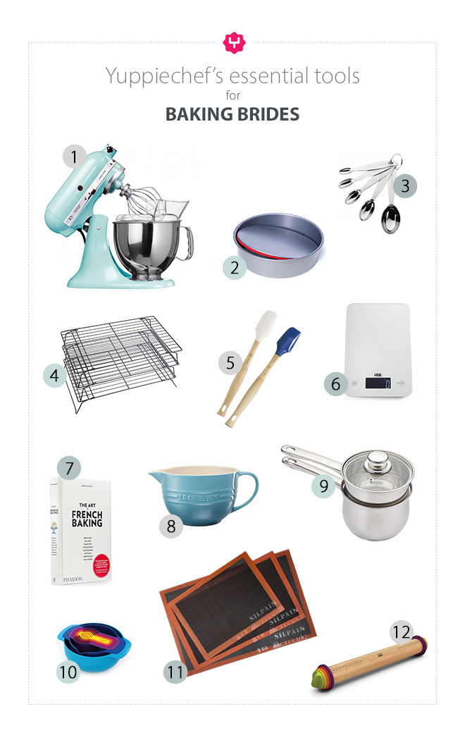 Our 12 Essential Tools For Baking Brides
